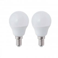 Ampoule LED XXCELL Sphère - E14 équivalent 40W x2