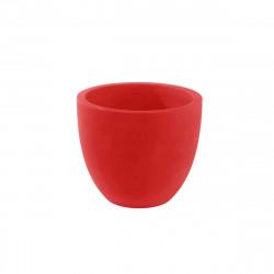 Pot VONDOM Modèle Cuenco - Rouge mat - 50cm