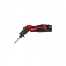 Fer à souder MILWAUKEE M12 SI-201C - 1 batterie 12 V 2.0 Ah - 1 chargeur 4933459761