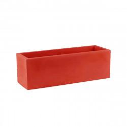 Pot VONDOM Modèle Jardinera - Rouge mat - 60cm