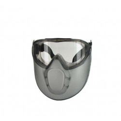 Lunette masque de sécurité anti-buée + Pare visage STORMLUX LUX OPTICAL 60650 EURO PROTECTION