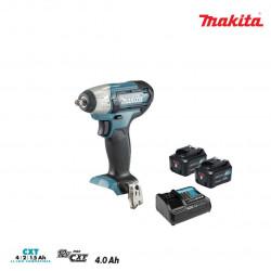 Boulonneuse à chocs MAKITA 10,8V - 2 batteries BL1041B 4.0Ah - 1 chargeur rapide DC10SB TW140DSMJ