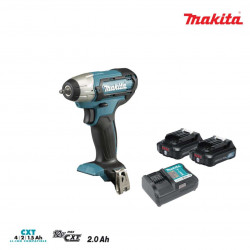 Boulonneuse à chocs MAKITA 12V - 2 batteries BL1021B 2.0Ah TW060DWAJ