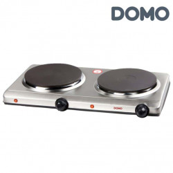 Double plaque de cuisson DOMO - diamètre 18 cm - 2 x 1500W DO311KP