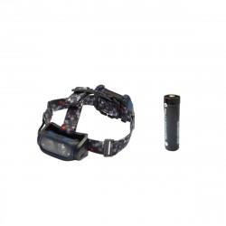 Pack NIGHTSEARCHER lampe frontale Head torch 800 lumens - Batterie rechargeable ritestar 18650