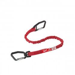 Lanière de sécurité MILWAUKEE quick connect - rouge - 4,5 kg 4932471429