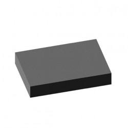 Tapis larmé gris 100x140cm épaisseur 3mm