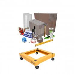 Pack déménagement pour emménagement - chariot de transport DOZOP compact démontable