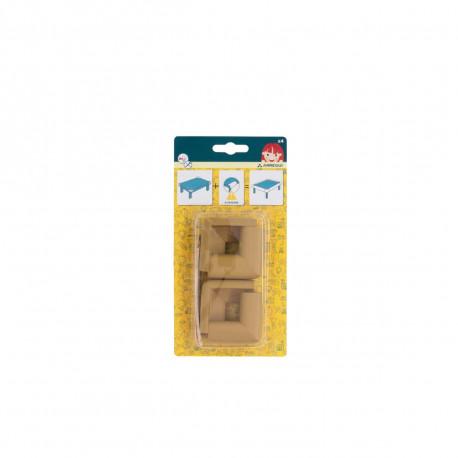 Protection d'angles ARREGUI - A-1044261 - Marron clair - 4 coins
