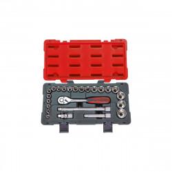 Coffret de douilles et accessoires KS TOOLS Ultimate - 24 pcs - 922.0623