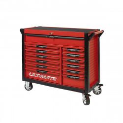 Servante KS TOOLS Ultimate - Rouge - 13 tiroirs - 809.0013
