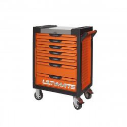 Servante KS TOOLS Ultimate - Orange - 7 tiroirs - 819.0007