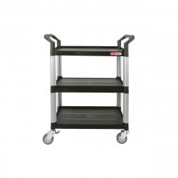 Chariot d'atelier KS TOOLS - Ouvert - PVC - 3 étages - 890.0020