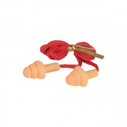 Protections auditives KS TOOLS - Avec tige et cordon - 20 pcs - 985.7055