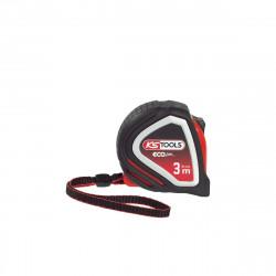 Mètre à ruban KS TOOLS EcoLine - Tri-matière - 3m x 16mm - 301.0113