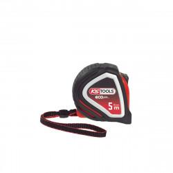Mètre à ruban KS TOOLS EcoLine - Tri-matière - 5m x 25mm - 301.0115
