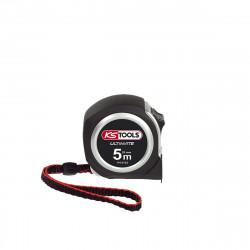 Mètre à ruban KS TOOLS Ultimate - Bi-matière - 5m x 25 mm - Embout magnétique - 301.0143