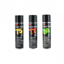 Pack 3 Colles en aérosol 3M Scotch Weld