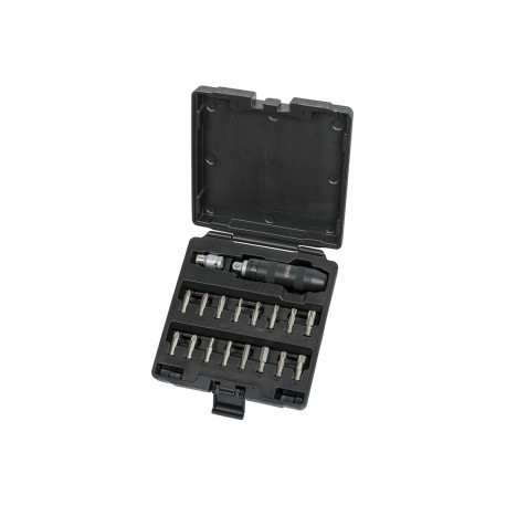Coffret d'embouts KS TOOLS - Avec tournevis à frapper - 18 pcs - 515.2000