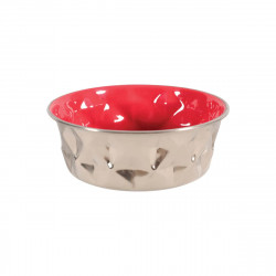 Gamelle ZOLUX - Rouge - Inox - 550ml - 475534RGE