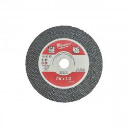 Disque à tronçonner fin MILWAUKEE Pour acier - 76 mm - 5 pcs - SCS 41-76 - 4932464717