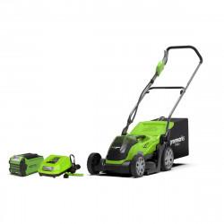 Tondeuse GREENWORKS 40V - coupe de 35cm - 1 batterie 2,0Ah - 1 chargeur - G40LM35K2