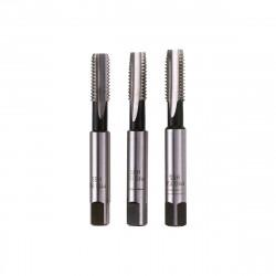 Jeu de tarauds standards FACOM HSS - M6 x 1,0 mm - Ebaucheur-intermédiaire-finisseur - 3 pcs - 227.6X100T3