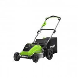 Tondeuse Brushless GREENWORKS 40V - Coupe de 45cm - Sans batterie ni chargeur - GD40LM45