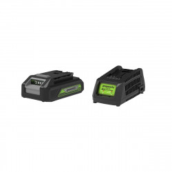 Pack GREENWORKS 24V - 1 batterie 2,0Ah Lithium-ion - 1 Chargeur