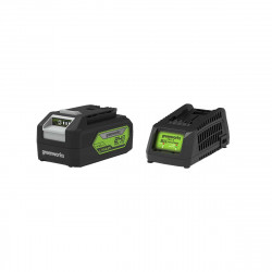 Pack GREENWORKS 24V - 1 batterie 4,0Ah Lithium-ion - 1 Chargeur