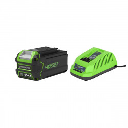 Pack GREENWORKS 40V - 1 batterie 4,0Ah Lithium-ion - 1 Chargeur