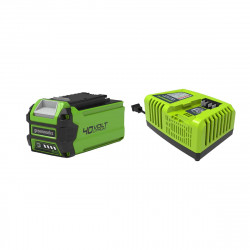 Pack GREENWORKS 40V - 1 batterie 2,0Ah Lithium-ion - 1 Chargeur rapide