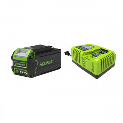 Pack GREENWORKS 40V - 1 batterie 4,0Ah Lithium-ion - 1 Chargeur rapide