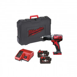 Perceuse percussion Milwaukee M18 BPD-402C - 2 batteries 18V Li-Ion 4.0Ah - 1 chargeur 4933443520