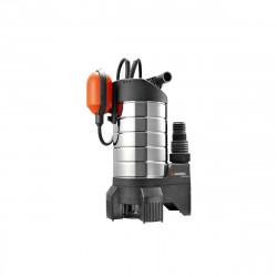 Pompe d'évacuation GARDENA - Inox - Pour eaux chargées - 1050W - 20000 l/h - 1802-20