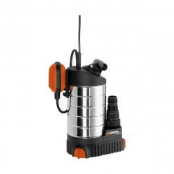 Pompe d'évacuation GARDENA - Inox - Pour eaux claires - 1000W - 21000 l/h - 1787-20
