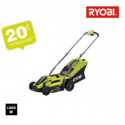 Tondeuse électrique RYOBI 1300 W coupe 33cm RLM13E33S