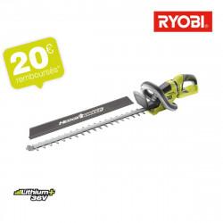 Taille-haies RYOBI 36 V LithiumPlus - sans batterie ni chargeur RHT36B61R