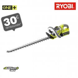 Taille-haies RYOBI 36 V LithiumPlus - 1 batterie 2.6 Ah - 1 chargeur RHT36C60R26