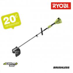 Coupe bordures RYOBI 36V LithiumPlus Brushless - sans batterie ni chargeur - RY36ELTX33A-0