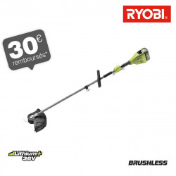 Coupe bordures RYOBI 36V LithiumPlus Brushless - 1 batterie 4,0 Ah - 1 chargeur - RY36ELTX33A-140