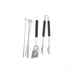 Pack 6 accessoires pour barbecue - Inox - 46 cm
