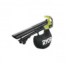 Souffleur aspiro-broyeur RYOBI 18V LithiumPlus Brushless - 1 batterie 5.0 Ah - 1 chargeur rapide RBV1850