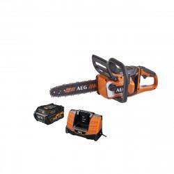 Tronçonneuse AEG 18V Brushless - 1 batterie 6.0Ah - 1 chargeur ACS18B30LI-601