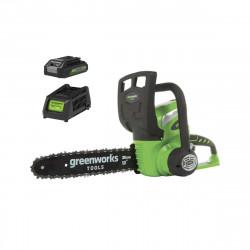 Tronçonneuse GREENWORKS 40V - 30 cm - 1 batterie 2.0 Ah - 1 chargeur - G40CS30K2