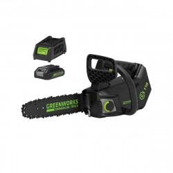 Elagueuse GREENWORKS Brushless 40V - 25 cm - 1 batterie 2.0 Ah - 1 chargeur - GD40TCSK2