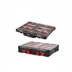 Pack MILWAUKEE PACKOUT Organiseur 10 casiers fin - Organiseur 10 casiers épais