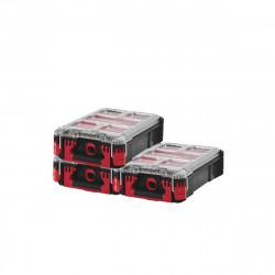 Pack MILWAUKEE PACKOUT 3 Organiseurs 5 casiers