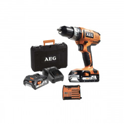 Perceuse à percussion AEG 18V - 2 batteries 1.5Ah - 1 chargeur - BSB18G2 KIT2X