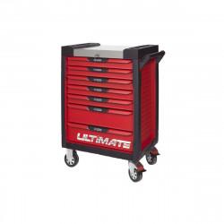 Servante KS TOOLS Ultimate - Rouge - 7 tiroirs - 809.0007